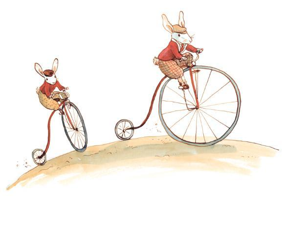 Bunny´s day out Bicicletas