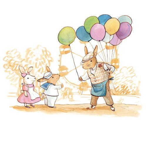 Bunny´s day out Balloons
