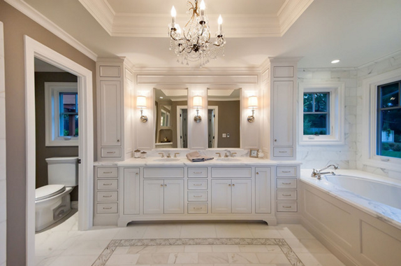 casa de banho iluminação