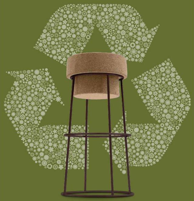 Banco Domitalia Bouchon | Cortiça Ecodesign