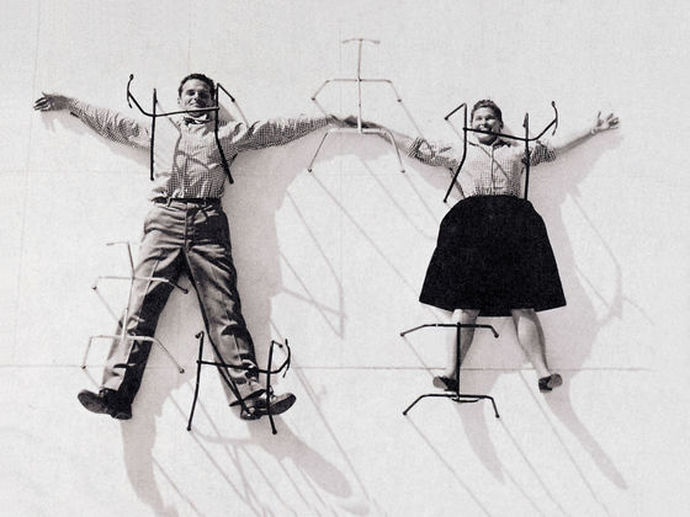Designers Charles e Ray Eames