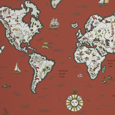papel de parede mapa mundo ralph lauren family places