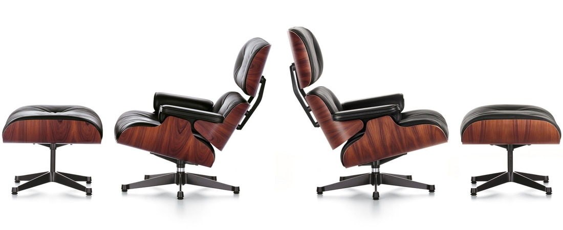 Eames Lounge Chair & Ottoman da Vitra Portugal