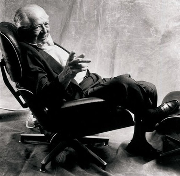Billy Wilder naPoltrona Eames Lounge Chair