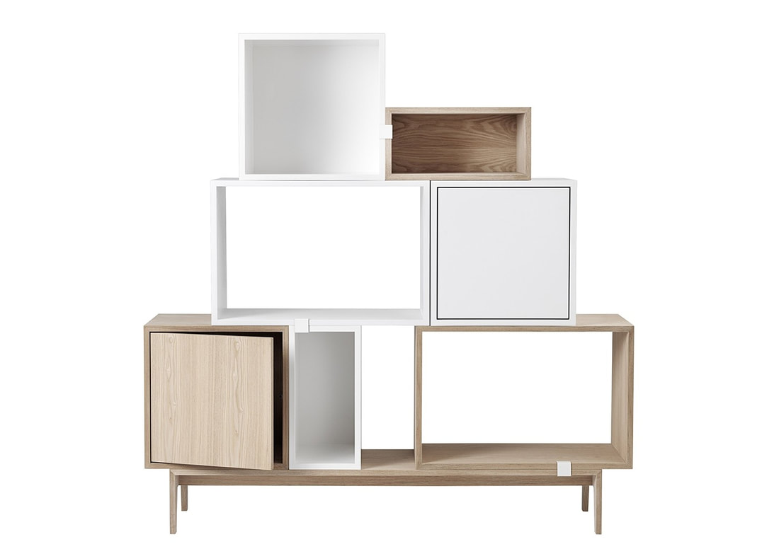 Stacked Shelf System Muuto